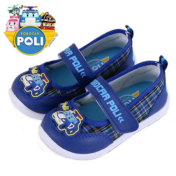男童 POLI 波力 10506 台灣製造防臭止滑室內鞋 幼稚園鞋 休閒鞋 帆布鞋 運動鞋 59鞋廊