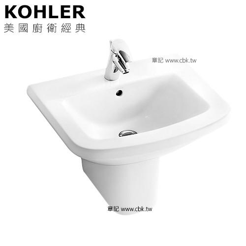 KOHLER Panache 瓷蓋面盆(60x48cm) K-17656K-0