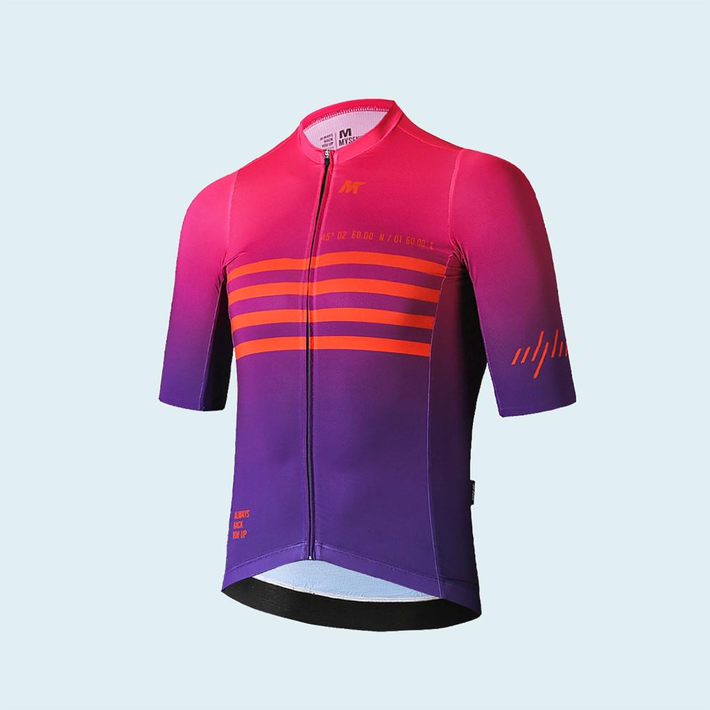 【VM.Plus】MSL凌雲短上衣-紅紫(男) 短車衣 男款 自行車車衣 騎行服