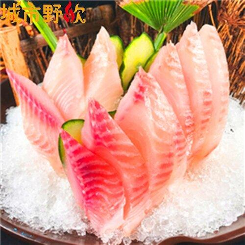 【城市野炊】台灣鯛魚片(400g : 五片裝/包) x 8包