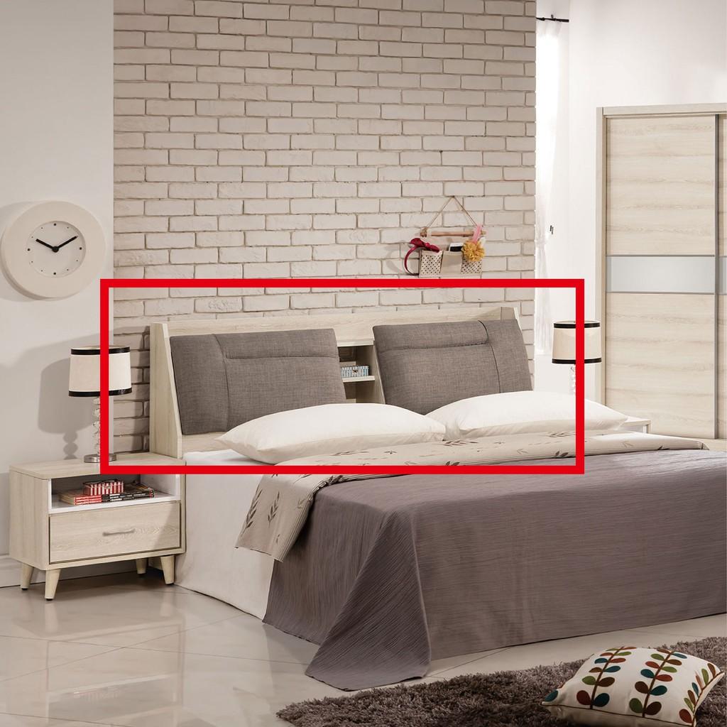 【155cm布面床頭-A007-3】床頭片 床頭櫃 單人床片 貓抓皮 亞麻布 貓抓布 【金滿屋】