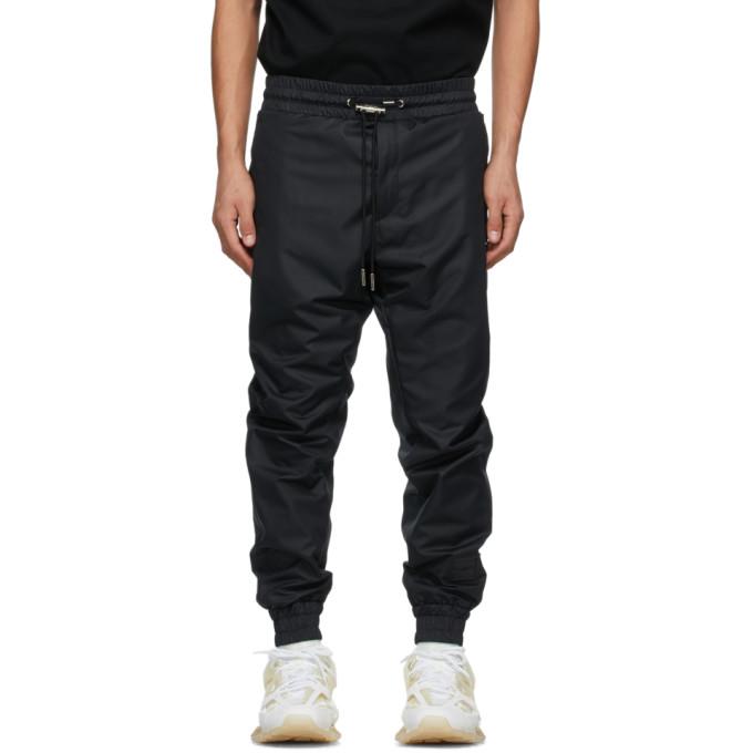 Wooyoungmi 黑色锥形运动裤
