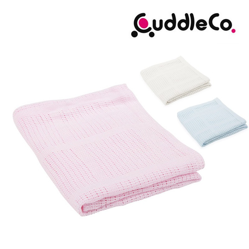 CuddleCo竹纖維洞洞毯90x60【HG0464】