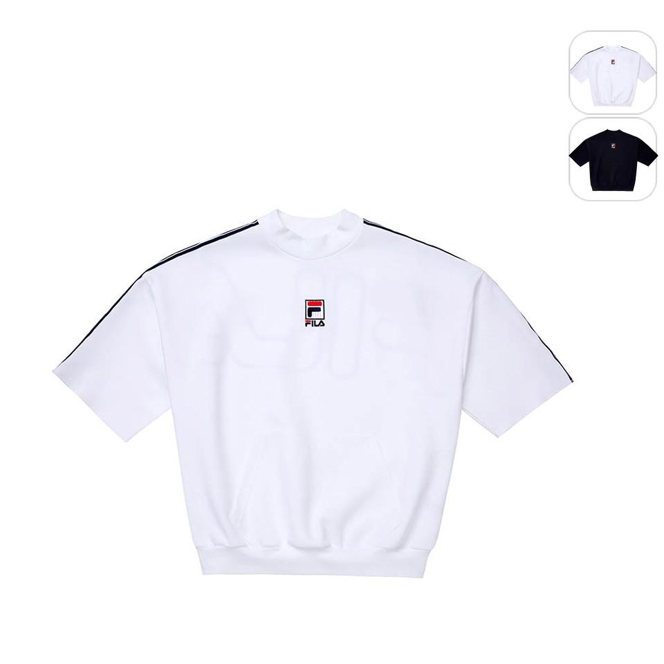 【FILA】女性 短袖圓領T恤-白色 5TEU-1423-WT