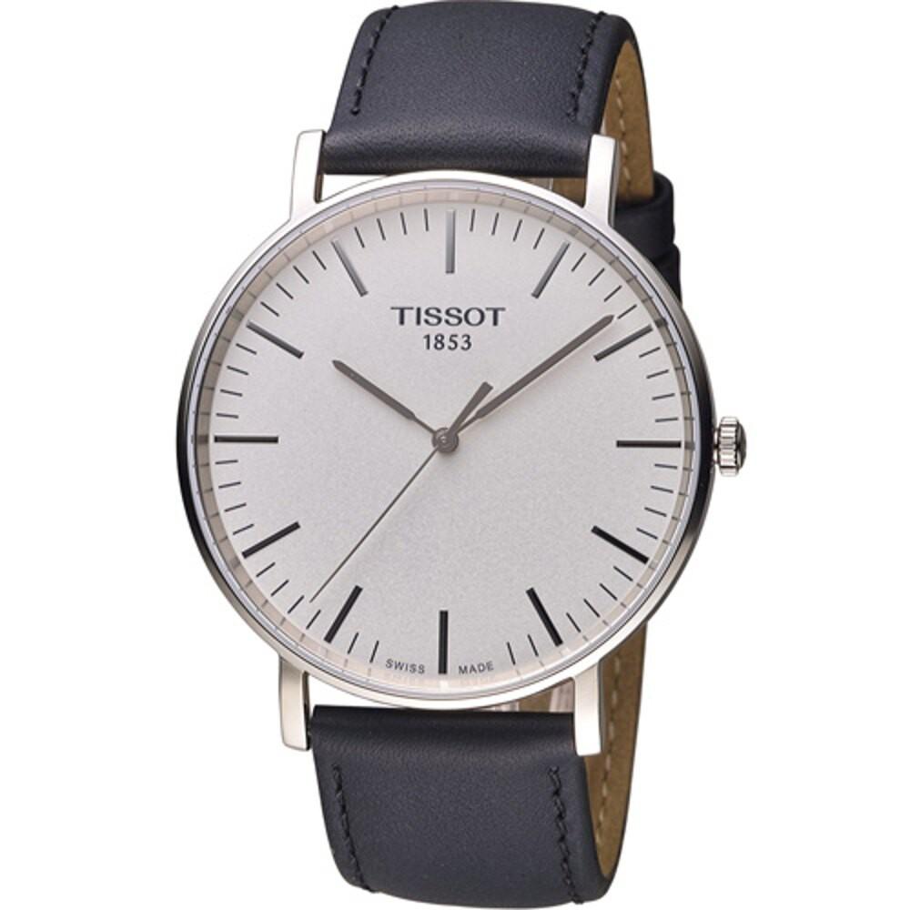 TISSOT 天梭錶 EVERYTIME Big Gent 大錶徑時尚錶 T1096101603100 (42mm)
