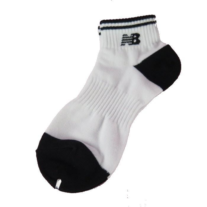 New Balance 運動襪 NBSOX01 22-24cm 黑白 享多件購買優惠 代購 正韓【iSport愛運動】