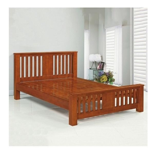 【MUNA 家居】1876型5尺實木雙人床