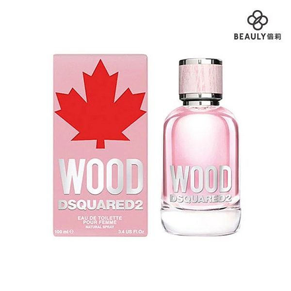 DSQUARED2 WOOD 天性女性淡香水 50ml《BEAULY倍莉》