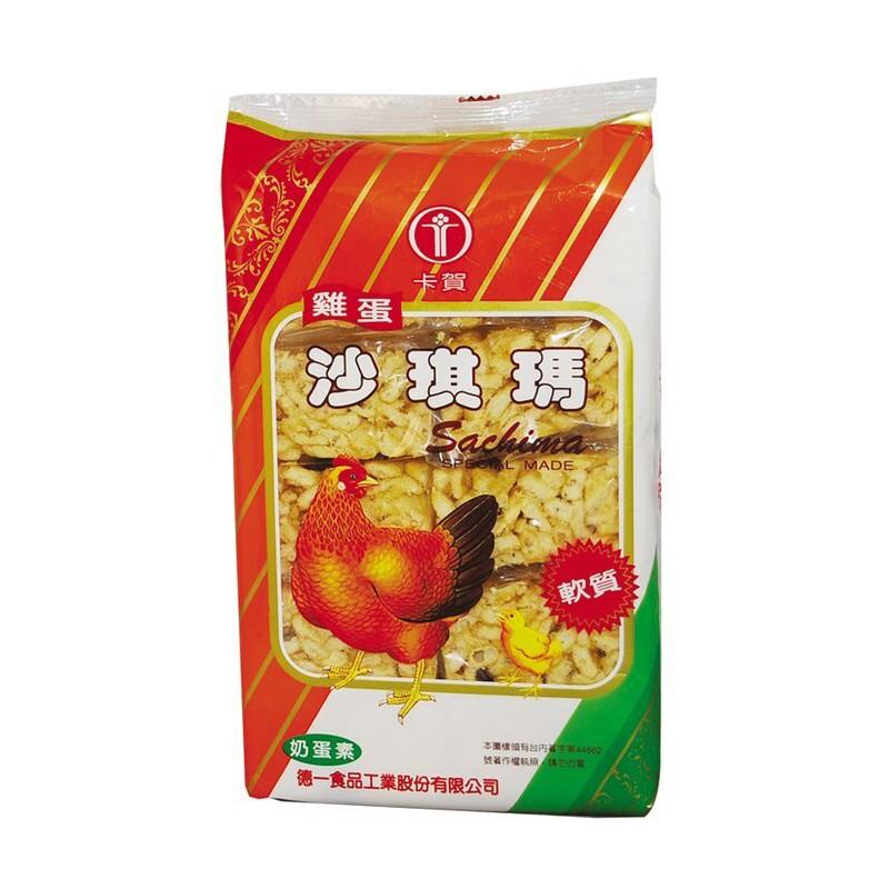 德一 卡賀 沙琪瑪(雞蛋) 180g【康鄰超市】
