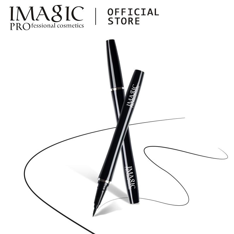 IMAGIC持久眼線液 專業化妝 防水持久 眼線液 黑色高著色