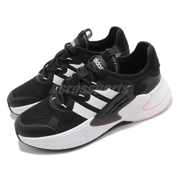 adidas 慢跑鞋 Roamer 黑 白 粉紅 愛迪達 Neo 運動鞋 女鞋 【ACS】 FY6713