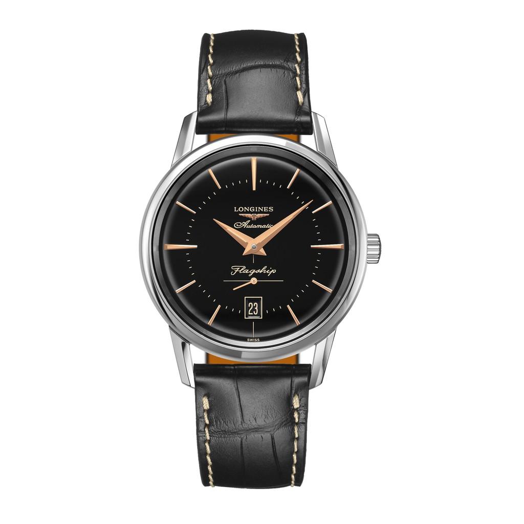 LONGINES 浪琴 L47954580 復刻機械腕錶 38.5mm