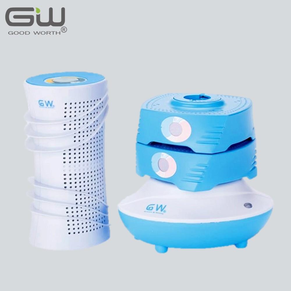 【GW 水玻璃】直筒疊疊樂除濕機 4件組(海洋藍)