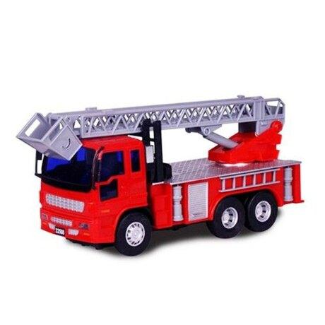小小家 工程小車車-磨輪小型消防雲梯車