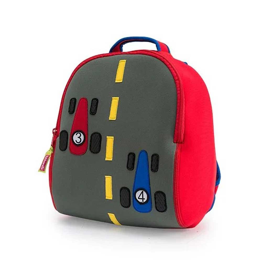 兒童後背包 3-8歲 幼兒園書包 極速小賽車【DABB010010008】