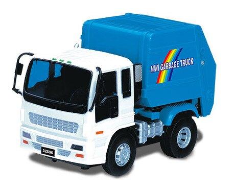 小小家工程車-磨輪垃圾車