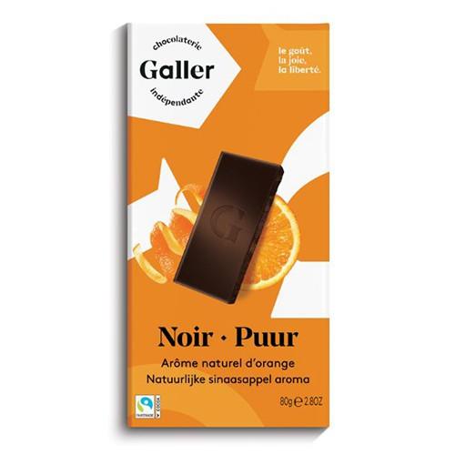 伽樂70%橙香醇黑巧克力80g【愛買】