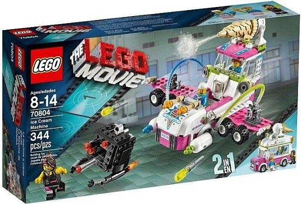 LEGO 樂高 樂高玩電影 Ice Cream Machine 冰淇淋車 70804