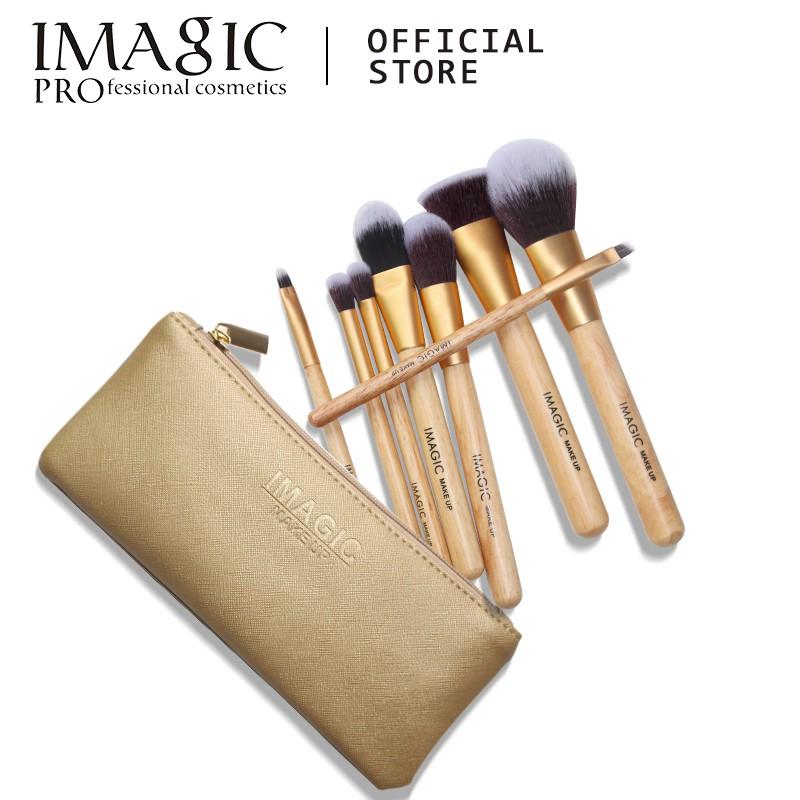 IMAGIC 8件/套 化妝刷套裝 軟毛 專業美容刷