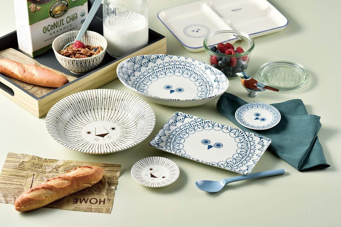 Sango Mikke Peekaboo Long Dish/ Owl eslite誠品
