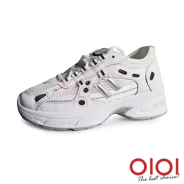 休閒鞋 復古型格輕量老爹鞋(灰) *0101shoes【18-J6635gy】【現+預】