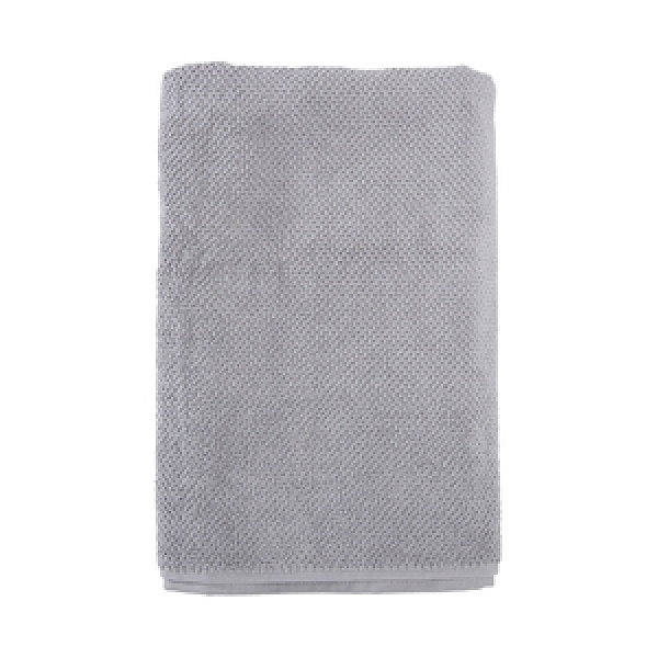 HOLA 葡萄牙純棉浴巾 絨朵灰70x140cm