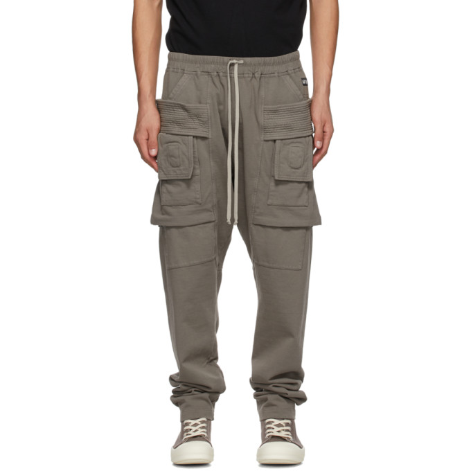 Rick Owens Drkshdw 灰色 Creatch 工装裤
