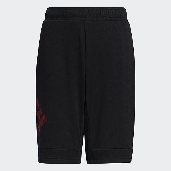Adidas BADGE OF SPORT SHORTS 童裝 短褲 休閒 吸濕 乾爽 黑【運動世界】GP0819