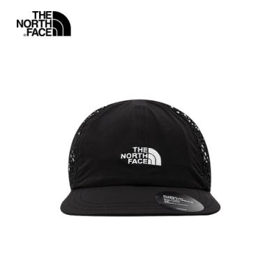 The North Face北面男女款黑色網眼棒球帽|55IMJK3