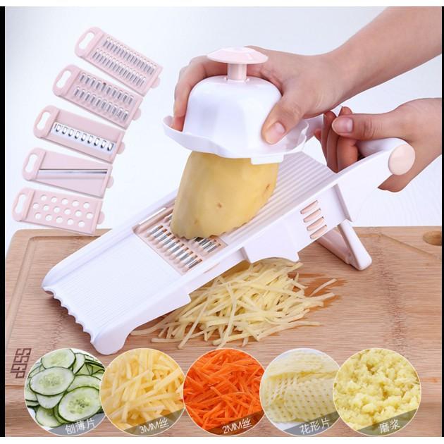廚房多功能切菜神器刨絲器蘿蔔土豆絲刮絲擦絲器擦菜器不銹鋼家用 ——