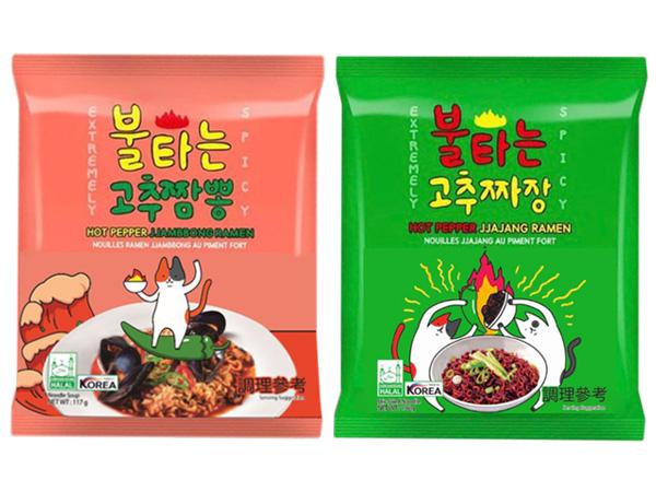 韓國 火辣貓~青陽辣椒炒碼麵/炸醬麵(1包入) 款式可選【D114715】