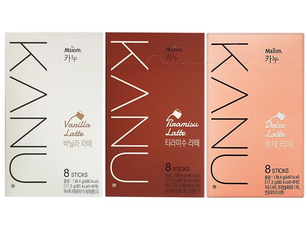 韓國 Kanu~香草/提拉米蘇/煉乳 拿鐵咖啡(17.3gx8入) 款式可選【D075519】