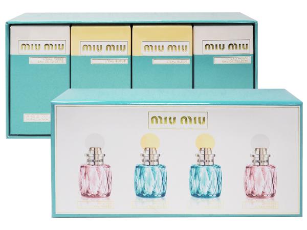 MIU MIU~女性小香水禮盒(四入組)【D594425】