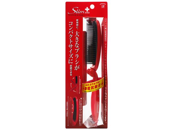 日本IKEMOTO 池本~防靜電折疊髮梳(SLP900)1入【D000283】