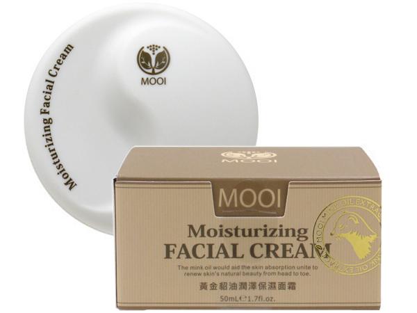 MOOI~ 黃金貂油潤澤保濕面霜(50ml)【D001954】