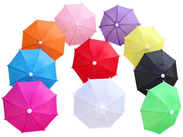 外送員手機遮陽傘/道具裝飾傘(1入) 小雨傘【D021971】顏色隨機出貨
