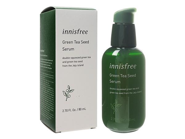 韓國 Innisfree~ 綠茶籽保濕精華液(80ml)【D517534】