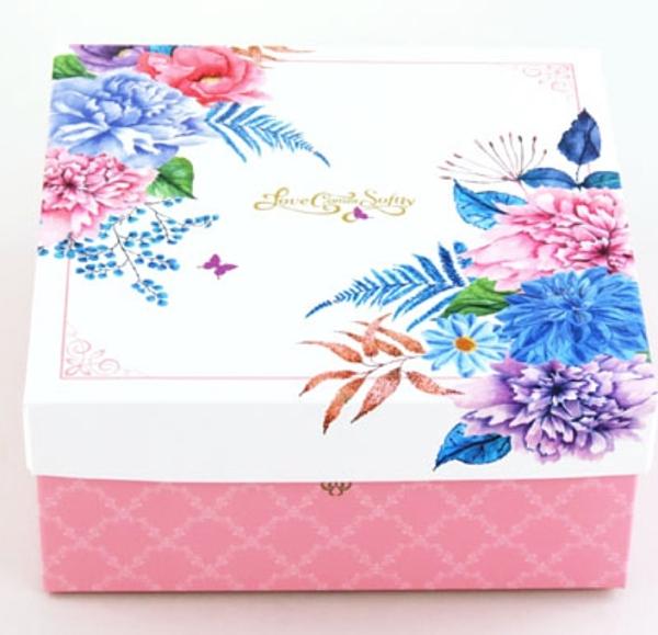歐式庭院風 6號高盒 蛋糕盒 乳酪盒 九宮格盒 紙盒 外帶盒 禮盒 包裝盒 糖果盒 餅乾盒【C135】