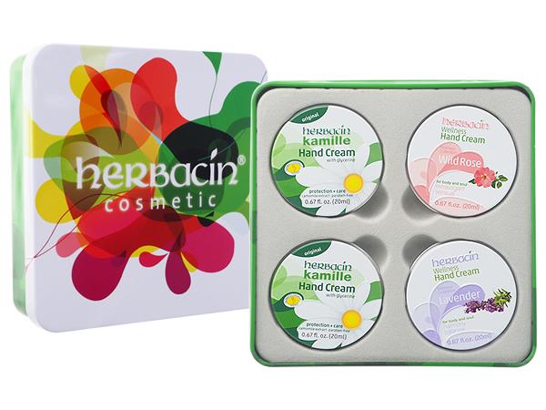 herbacin 德國小甘菊~經典香氛紀念禮盒(20mlx4)【D961044】護手霜