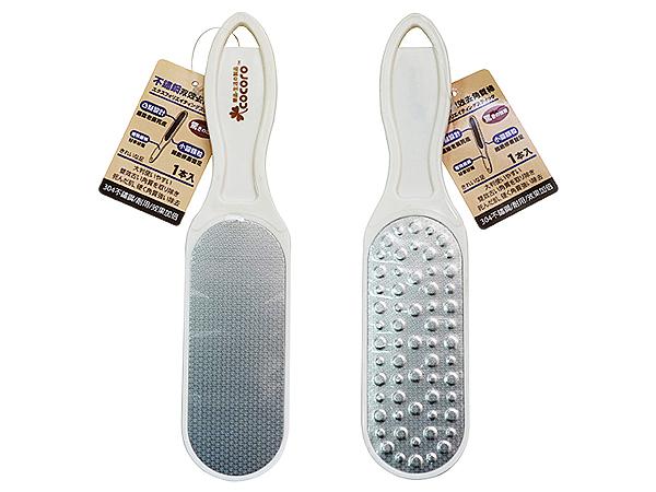 COCORO 樂品~304不銹鋼兩用腳搓板(1入)【D617330】