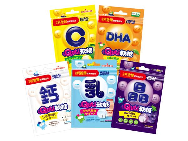 小兒利撒爾~Quti軟糖(25g) 活性乳酸菌/活力LemonC/專利晶明配方/牛奶鈣/藻油DHA 多款可選【D021101】