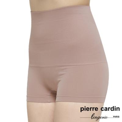 皮爾卡登_全方位360度高腰平腹提臀塑身四角褲(單件-BEI膚)