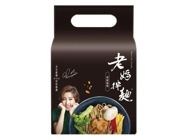 老媽拌麵~胡椒麻醬拌麵(141gx4包入)【D115018】