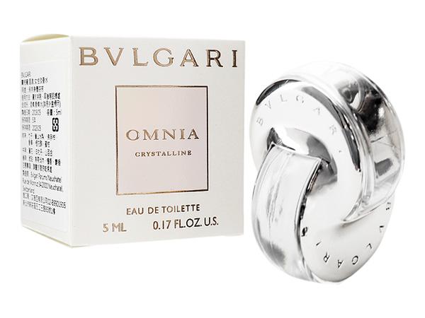 BVLGARI 寶格麗~晶澈女性淡香水(5ml)【D402920】