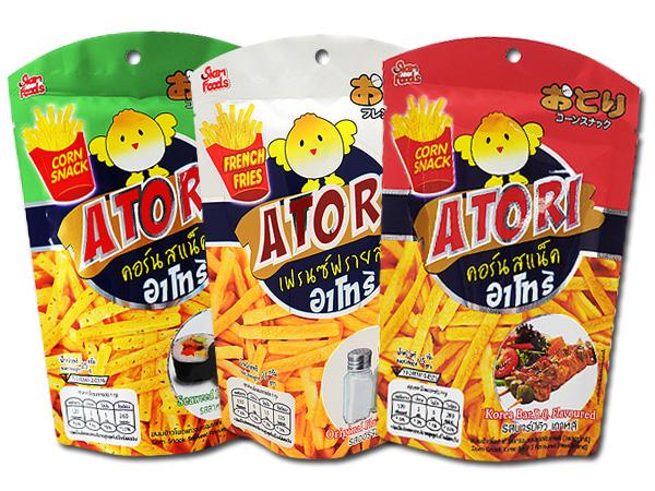Atori~薯條(25g) 原味/海苔/BBQ【D007212】
