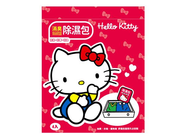 Hello Kitty~消臭除濕包(30gx4入)【D954168】三麗鷗授權