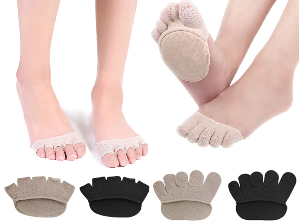 FAV~隱形五指止滑襪墊(1雙入) 款式可選【D150007】