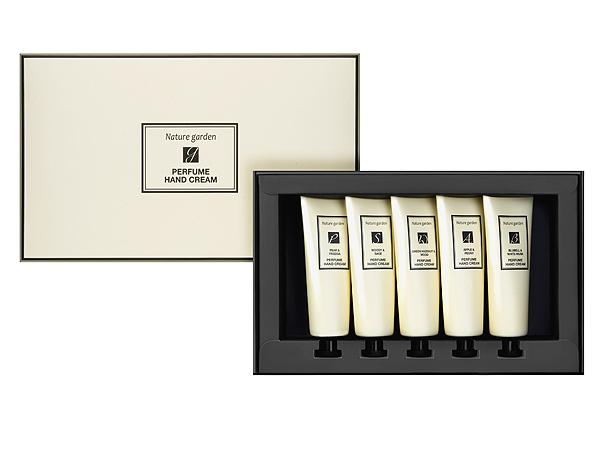 韓國 Nature Garden~英倫香水護手霜禮盒(50gx5入)【D547519】聖誕禮盒 新年禮盒 送禮首選