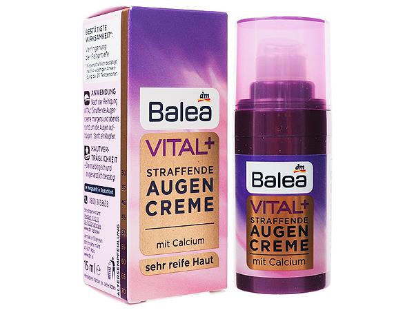 德國 Balea~Vital+深層熟齡肌活力眼霜(15ml)【D474988】