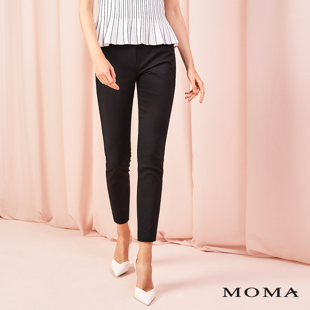 MOMA(01P083)簡約錦棉褲